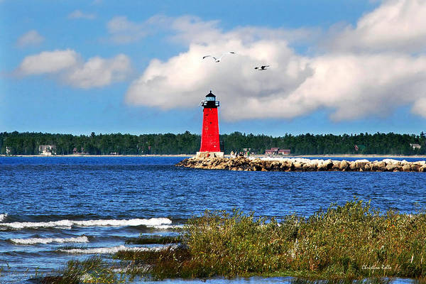 Photograph - Manistique Lighthouse by Christina Rollo