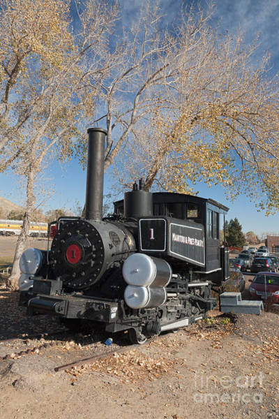 Photograph - Manitou And Pikes Peak Rw Engine 1 In Thecolorado Railroad Museum by Fred Stearns