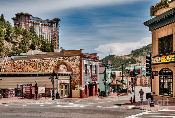 Digital Art - Manitou Springs by Mae Wertz