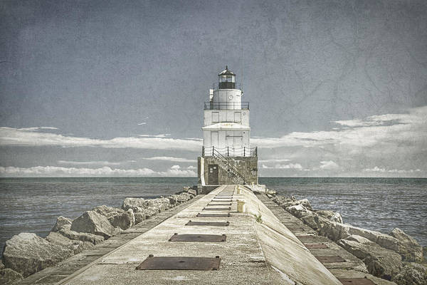 Photograph - Manitowoc Breakwater Lighthouse II by Joan Carroll