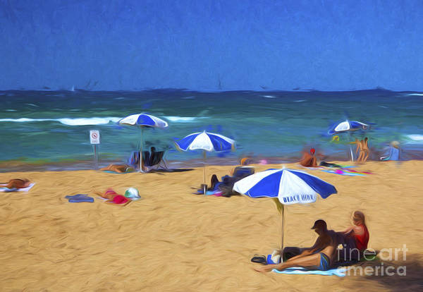 Wall Art - Photograph - Manly Beach by Sheila Smart Fine Art Photography
