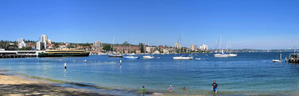 Photograph - Manly Wharf Panorama by David Rich