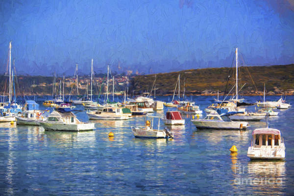 Wall Art - Photograph - Manly With Yachts by Sheila Smart Fine Art Photography
