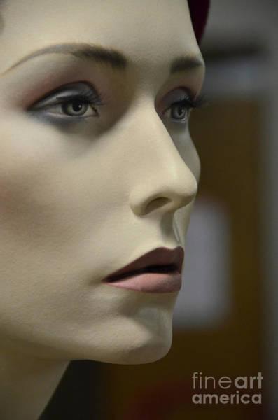 Wall Art - Photograph - Mannequin Face by Jill Battaglia