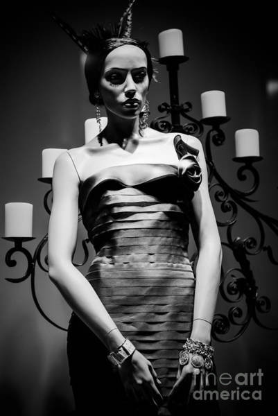 Neiman Photograph - Mannequin Of The Night by Sonja Quintero