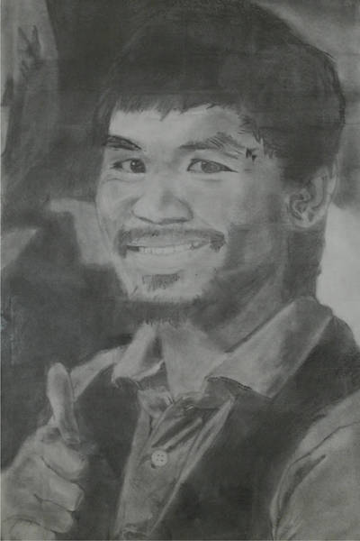 Filipino Drawing - Manny Pacquiao by Terence Leano