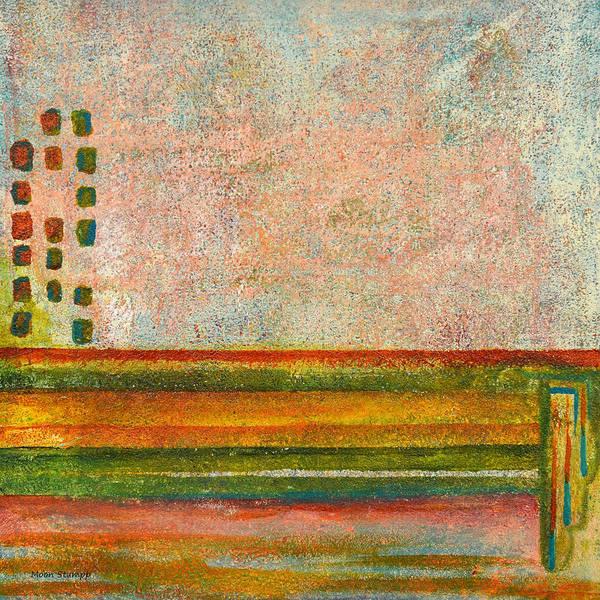 Fresh Paint Painting - Mansard by Moon Stumpp