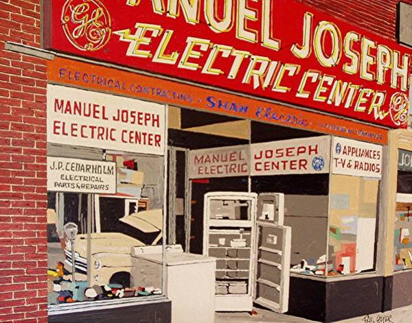 Manuel Joseph Art Print by Paul Guyer