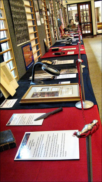 Photograph - Manuscripts At Doss Heritage by Glenn Bautista