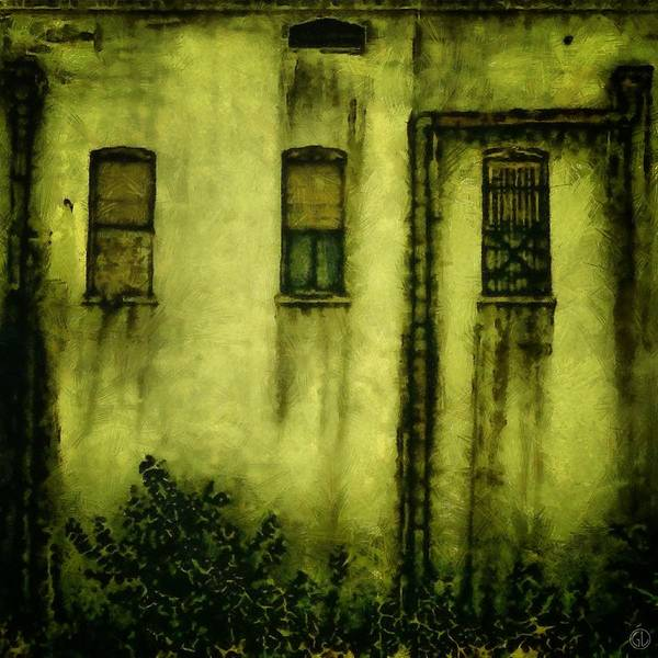 Old Town Digital Art - Many Generations Lived Here by Gun Legler