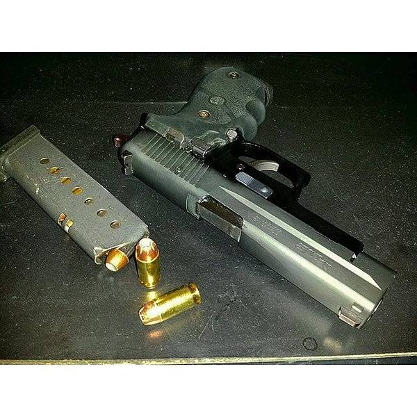 Handguns Photograph - Many Like It But This One Is Mine #p220 by Crook Bladez