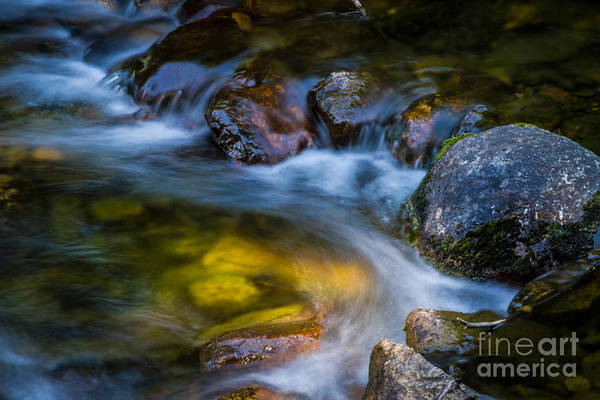 Shutter Speed Photograph - Many Rivers To Cross by Mitch Shindelbower