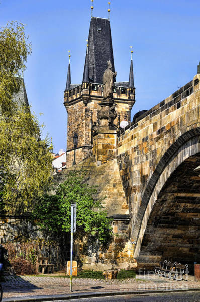 Photograph - Many Towered Charles Bridge by Brenda Kean