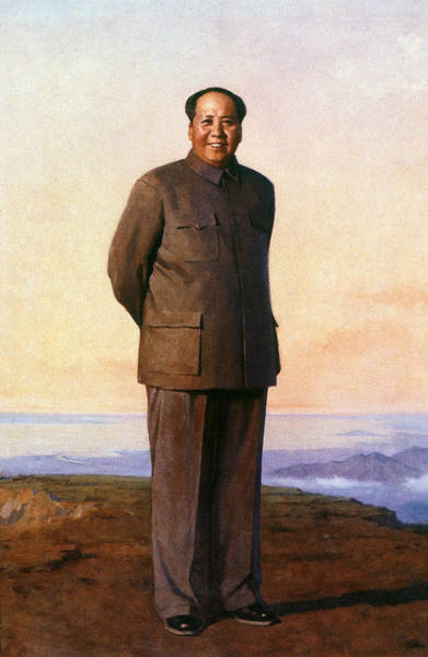 Painting - Mao Tse-tung (1893-1976) by Granger