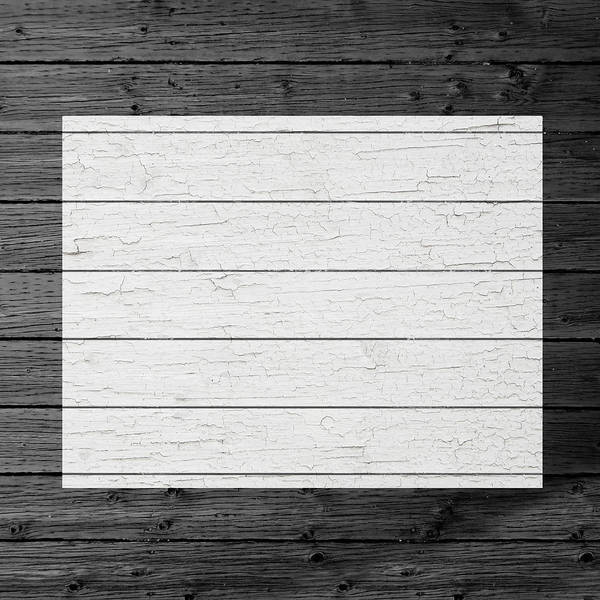 Border Mixed Media - Map Of Colorado State Outline White Distressed Paint On Reclaimed Wood Planks by Design Turnpike