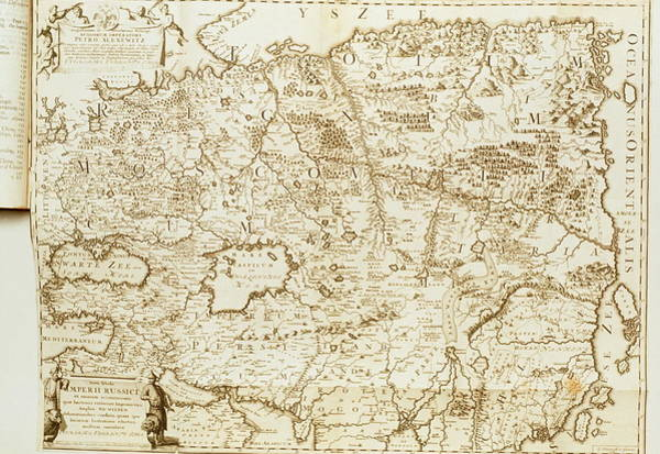 Imperial Russia Photograph - Map Of Eurasia by George Bernard/science Photo Library