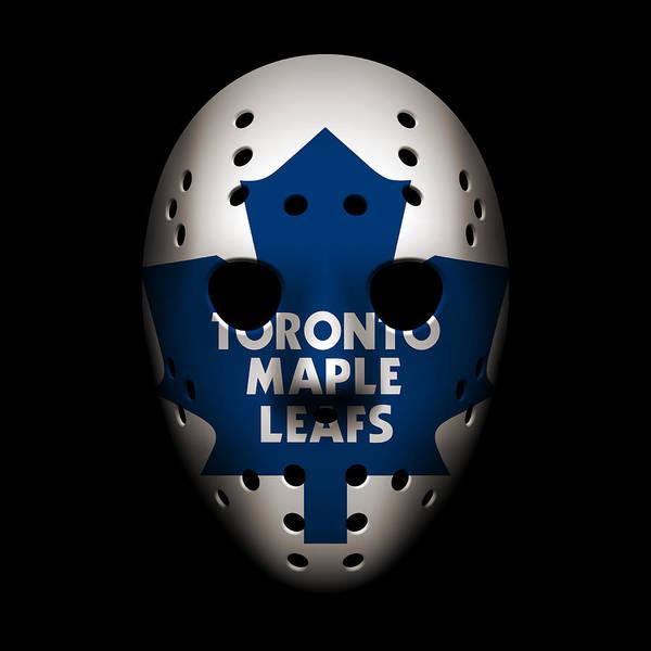 Wall Art - Photograph - Maple Leafs Goalie Mask by Joe Hamilton