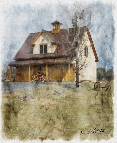 Syrup Digital Art - Maple Syrup General Store by Kelly Schutz