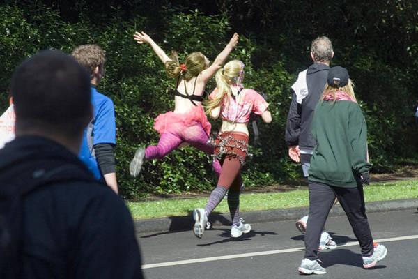 Furon Photograph - Marathon Grand Jete  by Daniel Furon