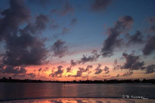 Photograph - Marathon Sunset by R B Harper