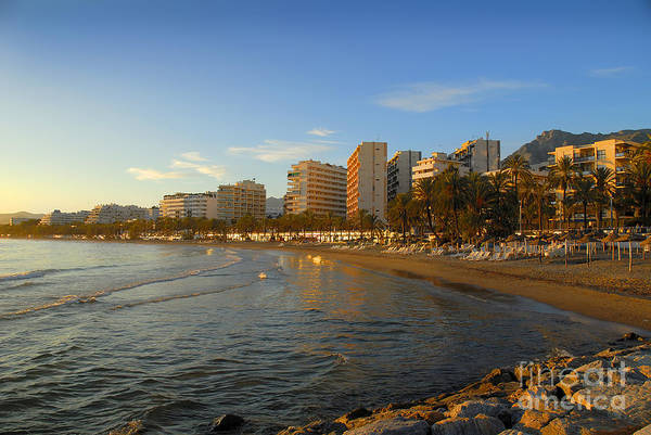 Photograph - Marbella Hotels In The Sunset by Brenda Kean
