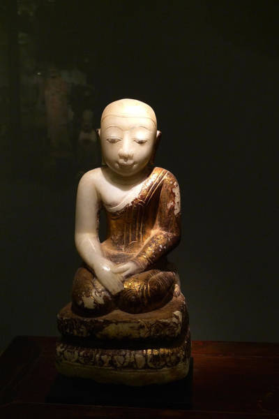 Photograph - Buddhist Figure   by August Timmermans