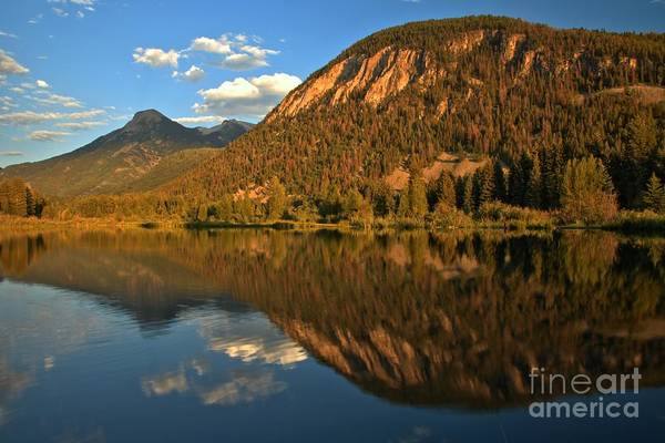 Photograph - Marble Fishing Lake Reflections by Adam Jewell
