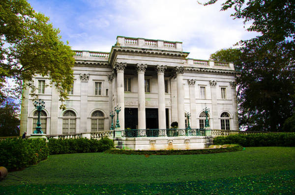 Photograph - Marble House - Vanderbilt Mansion - Newport Ri by Bill Cannon