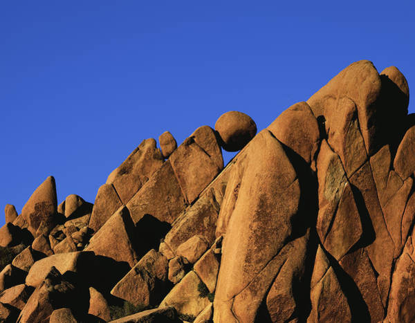 Marble Rock Formation Normal Art Print