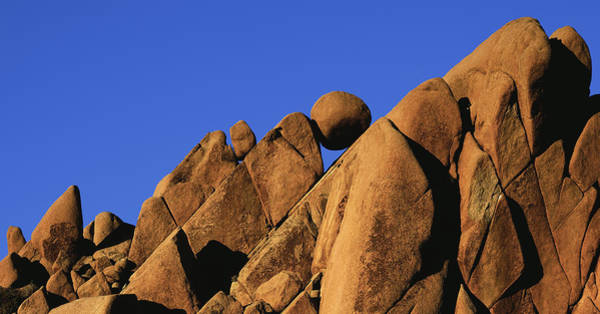 Marble Rock Formation Pano Art Print