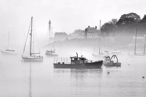 Marblehead Fog Art Print