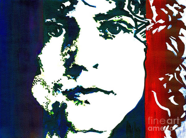 Painting - Marc Bolan by Tanya Filichkin