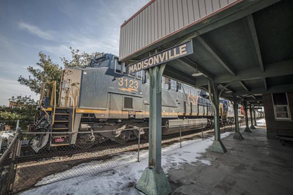 Subdivision Photograph - March 2. 2015 - A Csx Manifest Train by Jim Pearson