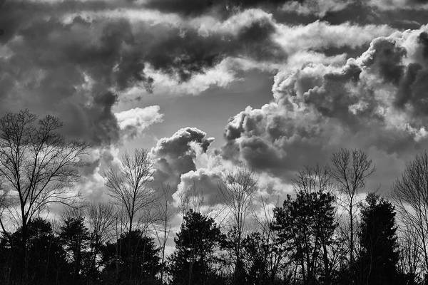 Photograph - March Skies Central Ohio by Beth Akerman