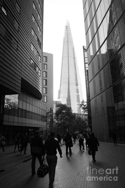 Photograph - March To The Shard by David Birchall