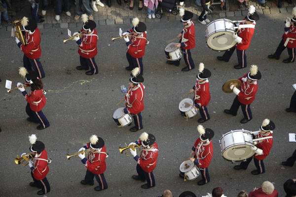 Photograph - Marching Band by Matthias Hauser