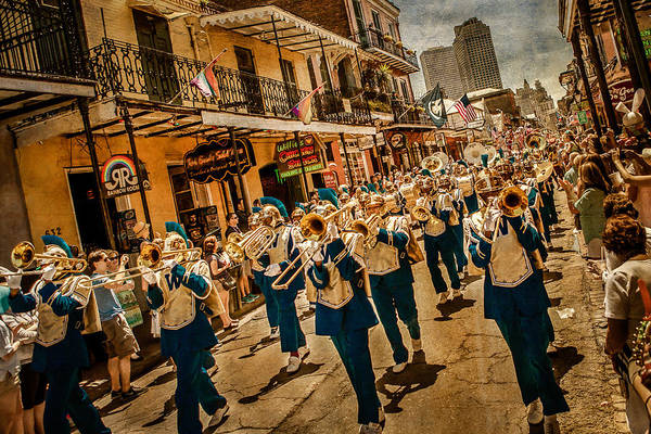 Photograph - Marching Band by Melinda Ledsome
