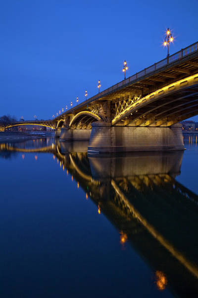 Danube Photograph - Margaret Bridge by Focusstock