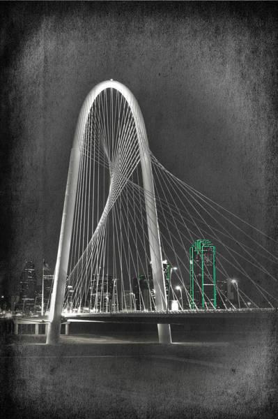 Photograph - Margaret Hunt Hill Bridge By Night II by Joan Carroll