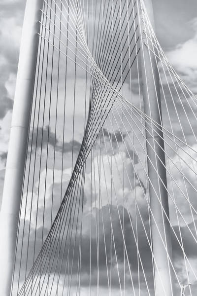 Margaret Hunt Hill Bridge Art Print