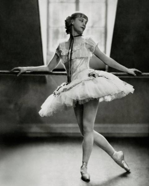 Wall Art - Photograph - Margaret Petit At The Barre by Nickolas Muray