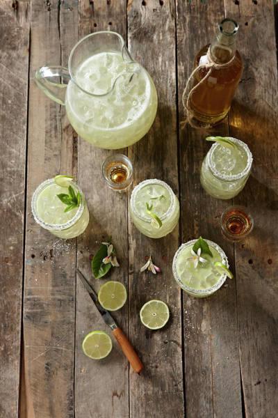 Jar Photograph - Margaritas by Lew Robertson