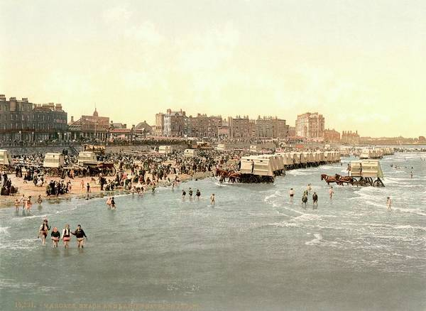 Margate Photograph - Margate Beach by Library Of Congress