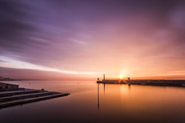 Margate Photograph - Margate Sunset by Ian Hufton