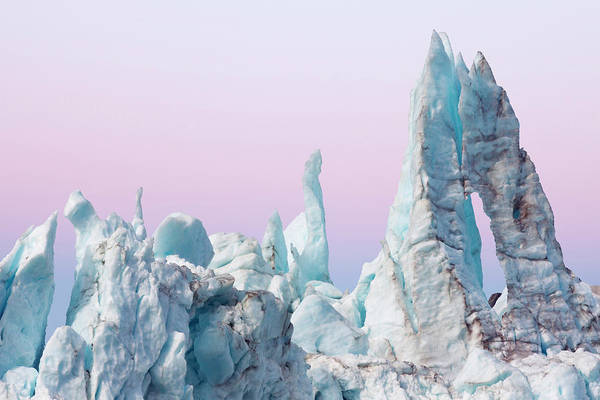 Glacier Bay Photograph - Margerie Glacier Ice Formations by Danita Delimont