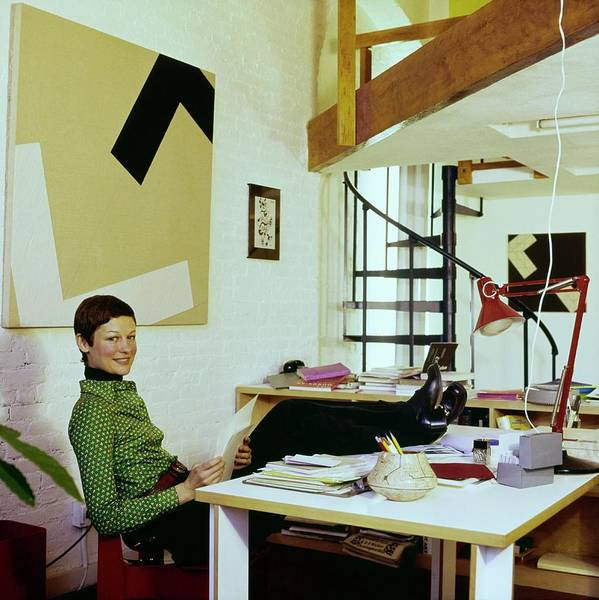 Spiral Photograph - Margit Rowell At Home by Horst P. Horst