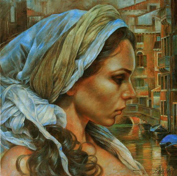 Venezia Painting - Maria by Arthur Braginsky