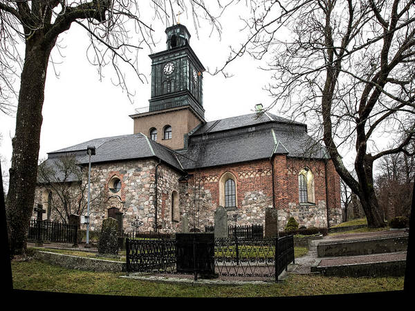 Photograph - Maria Church Enkoeping From South Leif Sohlman by Leif Sohlman