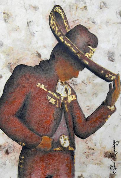 Mariachi Painting - M A R I A C H I  .  II by J  - O   N    E