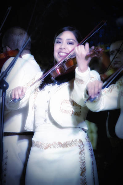 Photograph - Mariachi Mujer by Barry Weiss